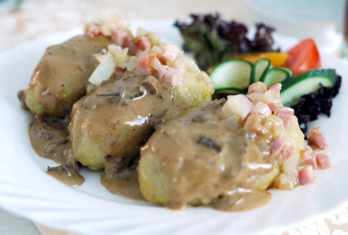 Cepelinai is one of the most distinct Lithuanian dishes .