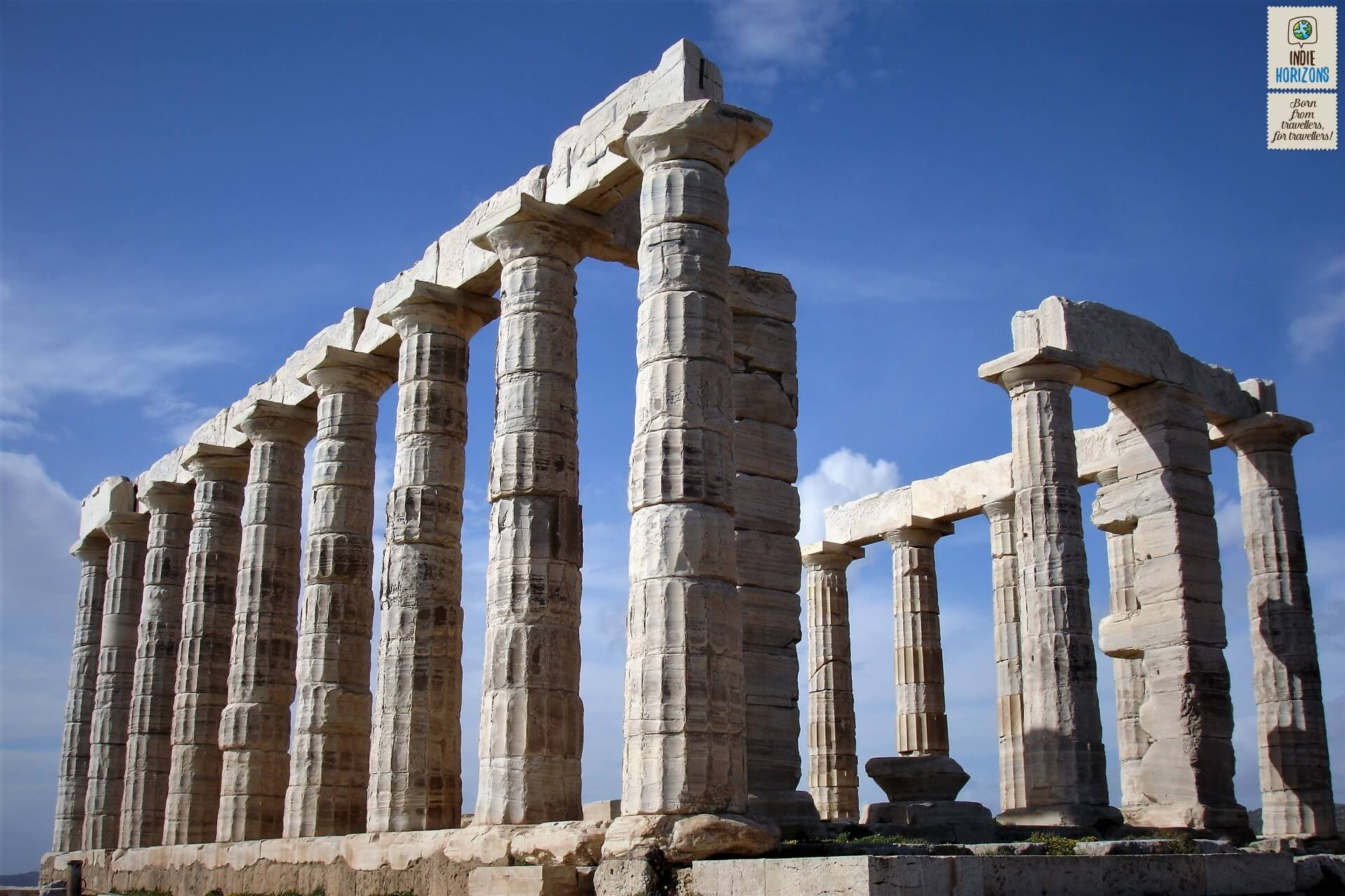 The fabled Temple of Poseidon in Sounion.