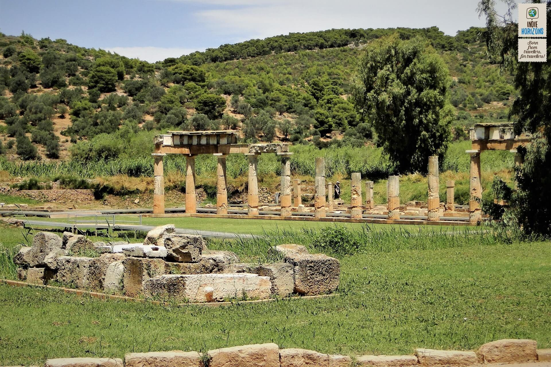 The fabled Temple of Artemis in Vravrona.
